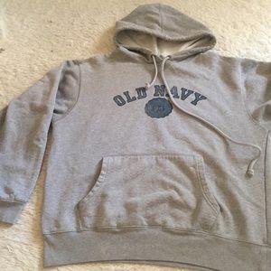 Old navy gray hoodie